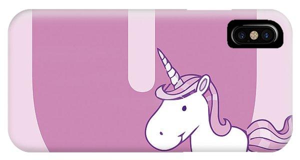 Unicorn iPhone Case - U by Gina Dsgn