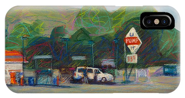 Gas Station iPhone Case - U Pump It by Athena Mantle