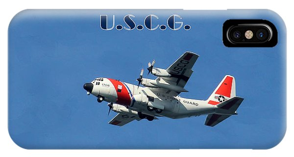 Department Of Defense iPhone Case - U S Coast Guard by HH Photography of Florida