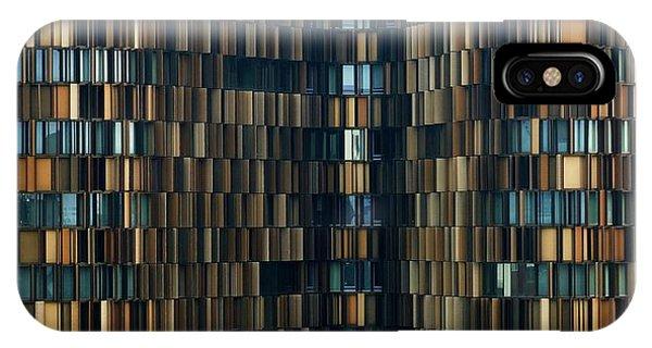 Office Buildings iPhone Case - U15 by Roberto Merlino