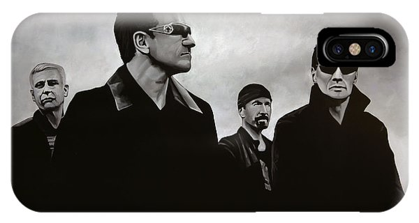 Hero iPhone Case - U2 by Paul Meijering