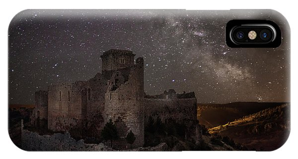 Castle iPhone X Case - Ucero Castle by Martin Zalba