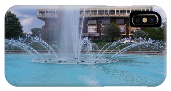 Ucf Reflection Pond 2 IPhone Case
