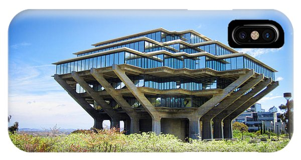 Ucsd Geisel Library IPhone Case