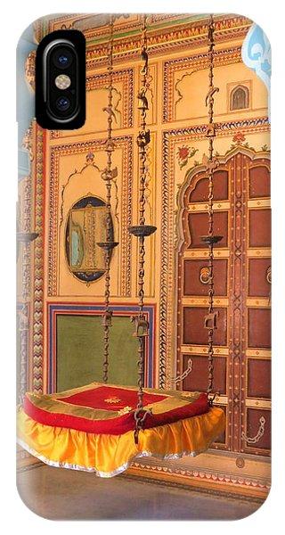 Udaipur Palace Swing IPhone Case