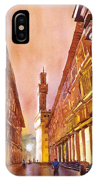 Uffizi- Florence IPhone Case