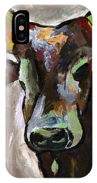 Ugandan Long Horn Cow IPhone Case