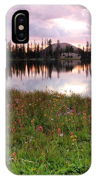 Uinta Wildflowers IPhone Case