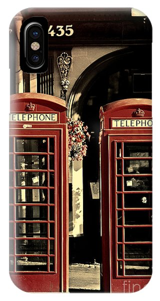 Uk Phone Box IPhone Case
