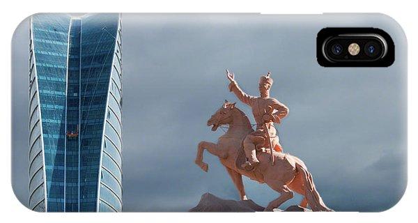 Ulaanbaatar IPhone Case