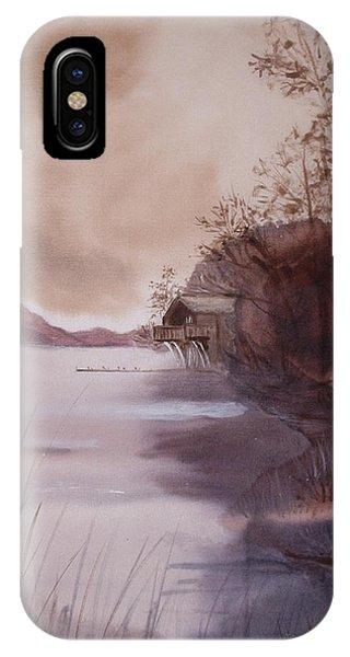 Ullswater Boathouse English Lake District  IPhone Case