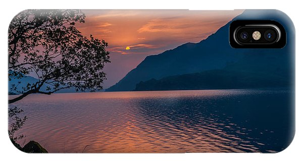 Ullswater Sunrise Lake District Phone Case by David Ross