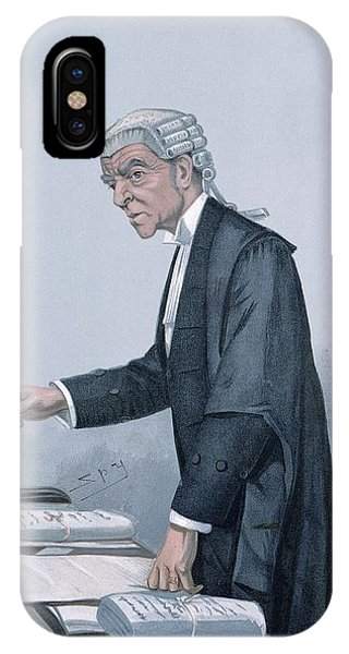 Caricature iPhone Case - Ulsterman Kc  by Leslie Mathew Ward