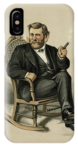 Ulysses Grant American Civil War Phone Case by Mary Evans Picture Library