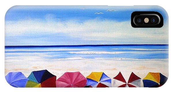 Umbrella Day IPhone Case