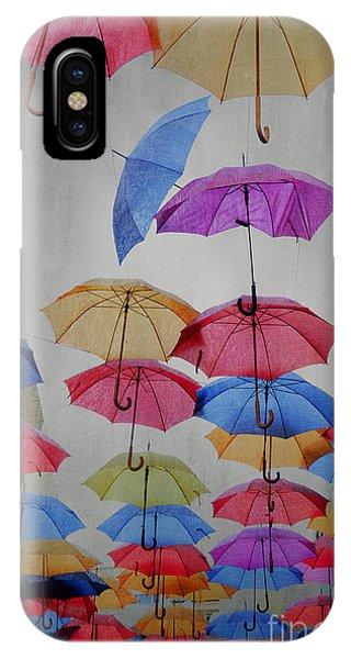 Umbrella iPhone Case - Umbrellas by Jelena Jovanovic