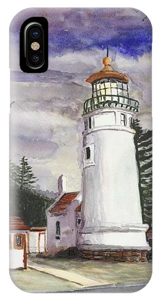 Umpqua Lighthouse IPhone Case