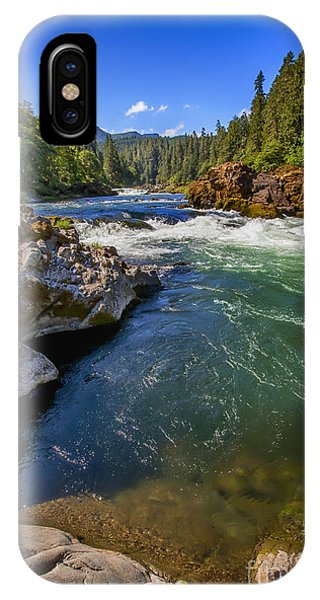 IPhone Case featuring the photograph Umpqua River by David Millenheft