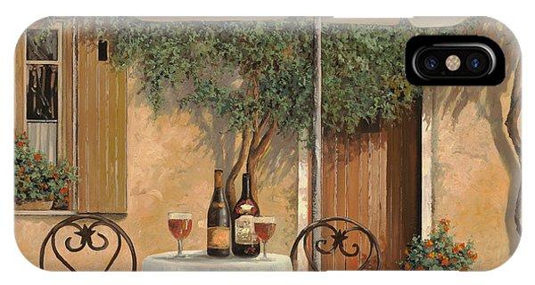 Food And Beverage iPhone Case - Un Altro Bicchiere Prima Di Pranzo by Guido Borelli
