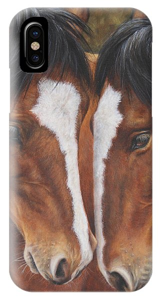 Unbridled Affection IPhone Case