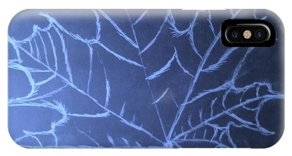 Uncertaintys Leaf IPhone Case