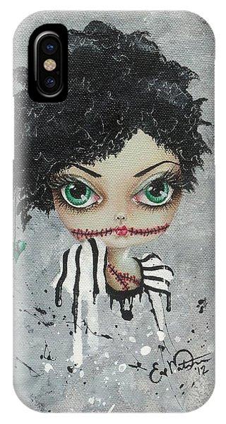 Undead Beauty Queen IPhone Case