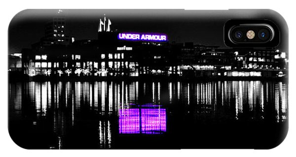 Under Amour At Night - Vibrant Color Splash IPhone Case