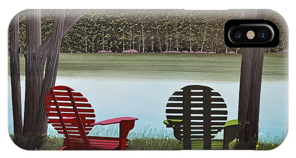 Under Muskoka Trees IPhone Case