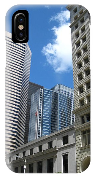 Under Seattle Blue IPhone Case