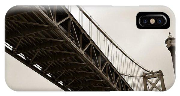 Under The Bay Bridge IPhone Case