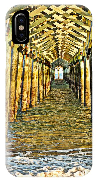 Under The Boardwalk - Hdr IPhone Case