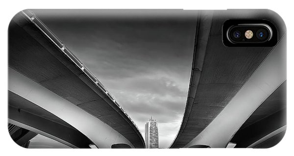 Bridge iPhone Case - Under The Bridge by Santiago Pascual Buye