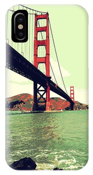 Under The Golden Gate IPhone Case