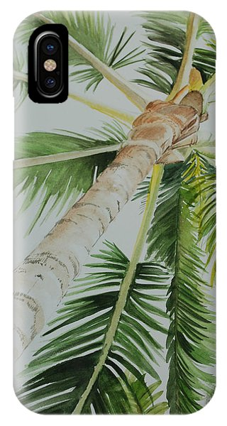 Under The Palm IPhone Case