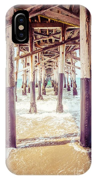 Under The Pier In Southern California Picture IPhone Case