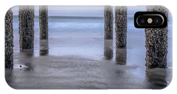 Orchard Beach iPhone Case - Under The Pier by Scott Thorp