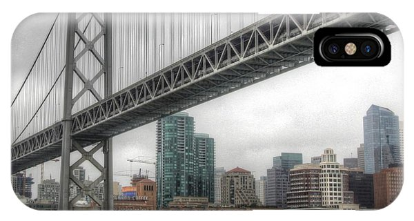 Under The San Francisco Bay Bridge IPhone Case