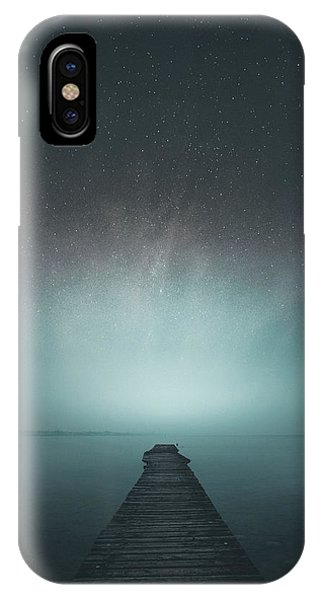 Astronomy iPhone Case - Under The Stars by Andrea Fraccaroli