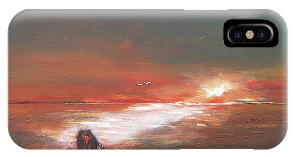 Under The Sunset IPhone Case