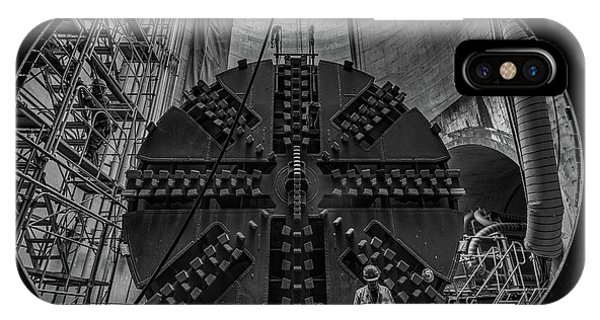 Construction iPhone Case - Underground by Kobayashi Tetsurou