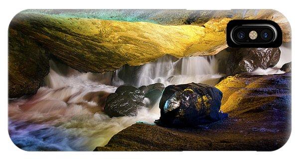 Underground Waterfall 2 IPhone Case