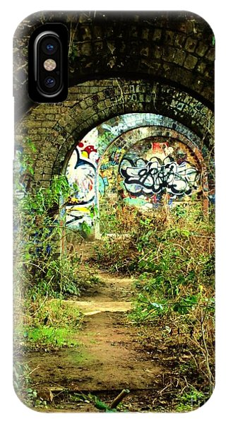 Underneath The Railway Arches Phone Case by C Lythgo