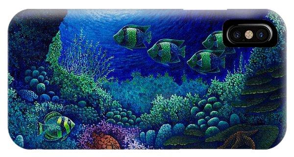 Undersea Creatures Iv IPhone Case