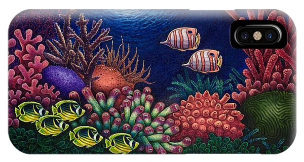Undersea Creatures Vi IPhone Case