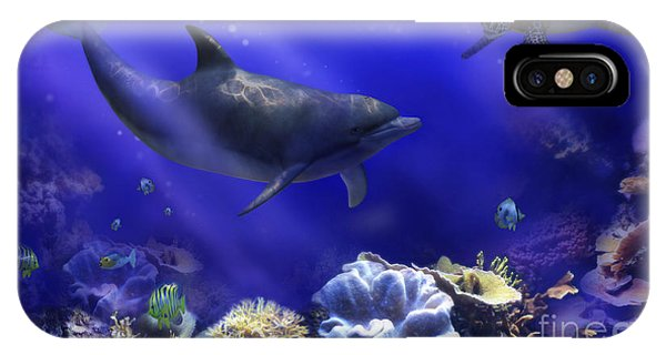 Underwater Encounter IPhone Case