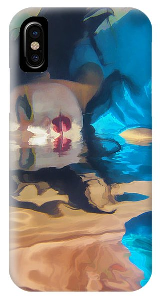 Underwater Geisha Abstract 1 IPhone Case