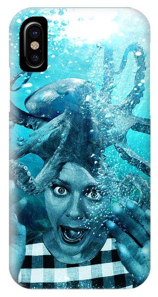 Underwater Nightmare IPhone Case