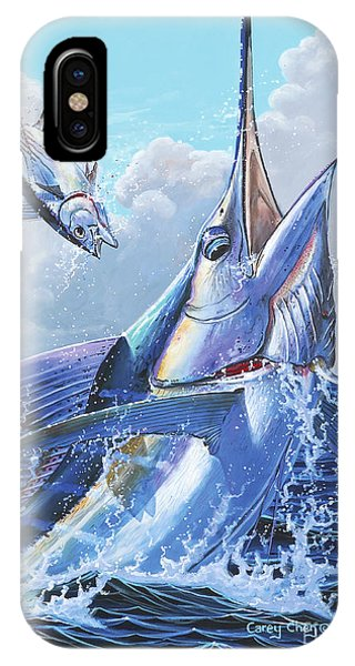 Skipjack iPhone Case - Unexpected Off0093 by Carey Chen