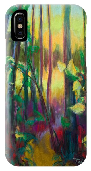 Unexpected Path - Through The Woods IPhone Case