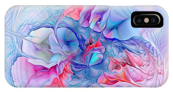 Violet Flame iPhone Case - Unicorn Dream by Anastasiya Malakhova